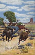 wes002447 - Western Cowboy, Cowgirl Postcard Postcards