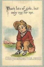 wes002454 - Western Cowboy, Cowgirl Postcard Postcards