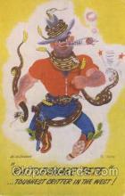 wes002456 - Western Cowboy, Cowgirl Postcard Postcards