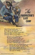 wes002458 - Western Cowboy, Cowgirl Postcard Postcards