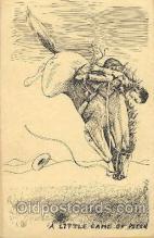 wes002467 - Western Cowboy, Cowgirl Postcard Postcards