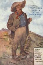 wes002472 - Western Cowboy, Cowgirl Postcard Postcards