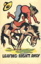 wes002475 - Western Cowboy, Cowgirl Postcard Postcards