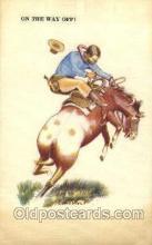 wes002478 - Western Cowboy, Cowgirl Postcard Postcards