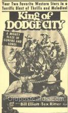 wes002484 - Bill Elliott Western Cowboy, Cowgirl Postcard Postcards