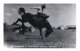 wes002487 - H. Drackert Western Cowboy, Cowgirl Postcard Postcards