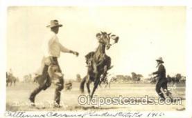 wes002489 - Dickinson Western Cowboy, Cowgirl Postcard Postcards