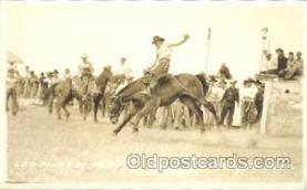 wes002494 - Leo Murray Western Cowboy, Cowgirl Postcard Postcards