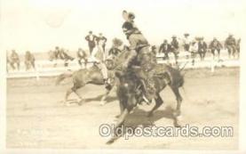 wes002497 - Western Cowboy, Cowgirl Postcard Postcards