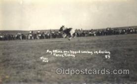 wes002500 - Peg Afkins Western Cowboy, Cowgirl Postcard Postcards