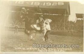 wes002524 - Bill McAdoo Western Cowboy, Cowgirl Postcard Postcards