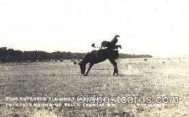 wes002526 - John Rufsvold Western Cowboy, Cowgirl Postcard Postcards