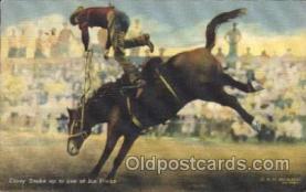 wes002566 - R.R. Doubleday Western Cowboy, Cowgirl Postcard Postcards