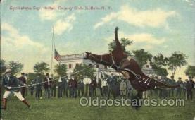 wes002575 - Gymlahqua day, Buffalo, New York, USA Western Cowboy, Cowgirl Postcard Postcards
