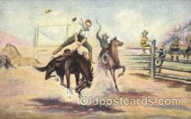 wes002598 - L.H. Dude Larsen Western Cowboy, Cowgirl Postcard Postcards