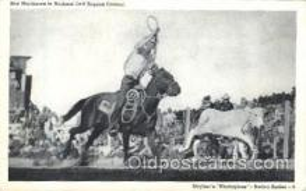 wes002606 - Roy Matthews Western Cowboy, Cowgirl Postcard Postcards