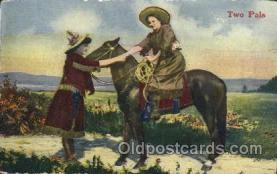 wes002615 - Western Cowboy, Cowgirl Postcard Postcards