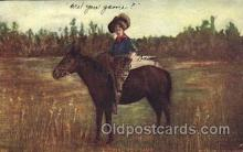 wes002617 - S.S. Porter Chicago Western Cowboy, Cowgirl Postcard Postcards