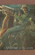wes002629 - Bat Masterson Western Cowboy, Cowgirl Postcard Postcards