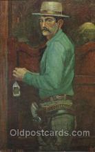 wes002636 - Luke Short Western Cowboy, Cowgirl Postcard Postcards