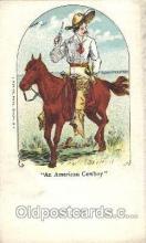 wes002641 - Western Cowboy, Cowgirl Postcard Postcards