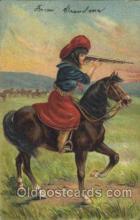 wes002661 - Western Cowboy, Cowgirl Postcard Postcards