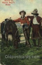 wes002669 - Western Cowboy, Cowgirl Postcard Postcards