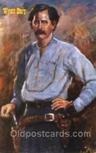 wes002671 - Wyatt Earp Western Cowboy, Cowgirl Postcard Postcards