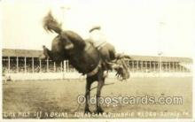wes002680 - Dick Wolf Iowa Chanpionship Rodeo - Sidney 1934 Cowboy Western Old Vintage Antique Postcard Post Cards