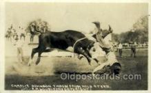 wes002684 - Charlie Johnson Cowboy Western Old Vintage Antique Postcard Post Cards