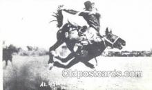 wes002696 - Al Walkenson Cowboy Western Old Vintage Antique Postcard Post Cards