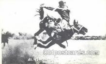 wes002698 - Al Walkenson Cowboy Western Old Vintage Antique Postcard Post Cards