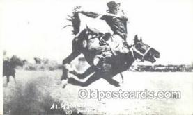 wes002699 - Al Walkenson Cowboy Western Old Vintage Antique Postcard Post Cards