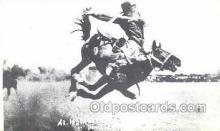 wes002700 - Al Walkenson Cowboy Western Old Vintage Antique Postcard Post Cards