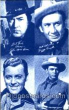 wes100006 - John Brown, Allan Lane & Fuzzy Knight, Western Arcard Cards, non-postcard backing