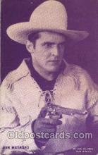wes100012 - Ken Maynard, Western Arcard Cards, non-postcard backing