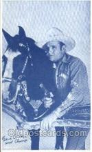 wes100021 - Gene Autry and the Champ, Western Arcard Cards, non-postcard backing