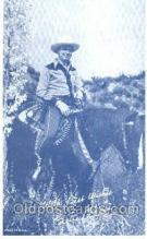 wes100022 - Gene Autry, Western Arcard Cards, non-postcard backing
