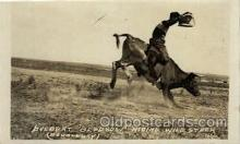 wes100038 - Belbert Bledsow, Real Photo Western Postcard Postcards