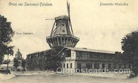 win001002 - Sanssouci - Potsdam Gruss aus Windmill Postcard Postcards