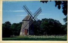 win001016 - Cape Cod, Massachusetts, USA Windmills Postcard Post Cards, Old Vintage Antique