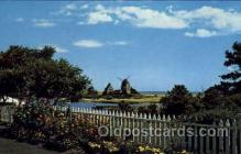 win001021 - Cape Cod, Massachusetts, USA Windmills Postcard Post Cards, Old Vintage Antique