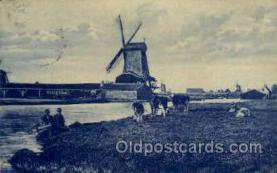 win001025 - Windmills Postcard Post Cards, Old Vintage Antique