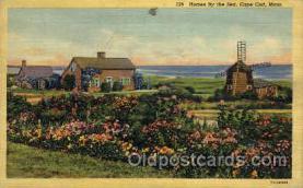win001026 - Cape Cod, Massachusetts, USA Windmills Postcard Post Cards, Old Vintage Antique