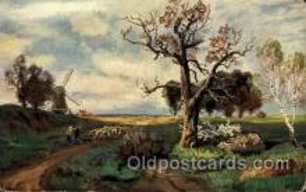 win001030 - Windmills Postcard Post Cards, Old Vintage Antique