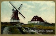 win001033 - Windmills Postcard Post Cards, Old Vintage Antique