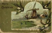 win001034 - Windmills Postcard Post Cards, Old Vintage Antique