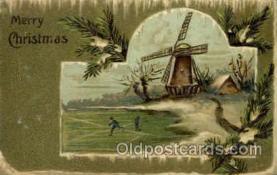 win001034 - Windmills Postcard Post Cards, Old Vintage Antique