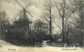 win001036 - Breman Heerdwntorsmuhle Windmills Postcard Post Cards, Old Vintage Antique