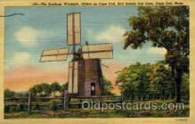 win001040 - The Oldest Windmill, Cape Cod, Mass. USA Windmills Postcard Post Cards, Old Vintage Antique